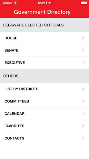 Delaware Government Directory