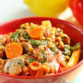 Vegan Vegetable Stew Crock Pot Recipes.