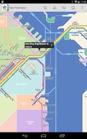 Screenshot of San Francisco Metro by Zuti