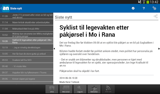 Avisa Nordland - screenshot thumbnail