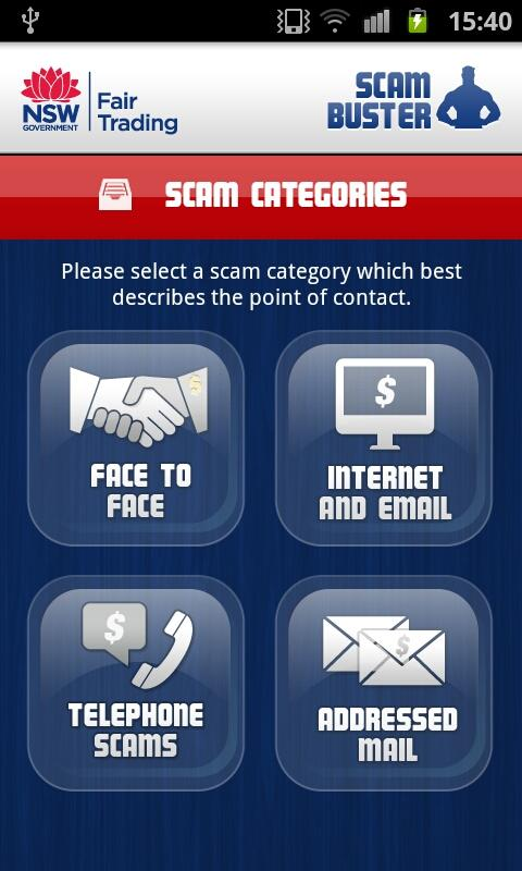 Scam Buster- screenshot