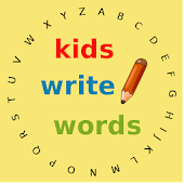 Kids read words