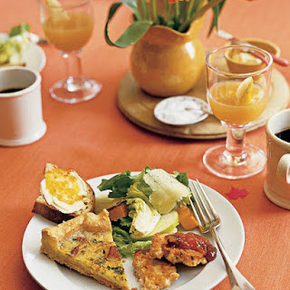 Maple-Bacon Quiche