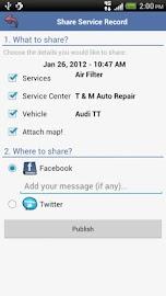 aCar - Car Management, Mileage Screenshot 8