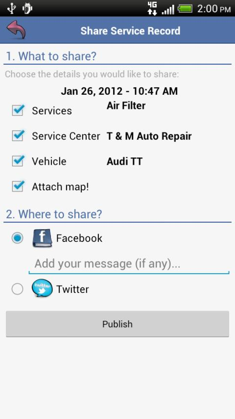 aCar - Car Management, Mileage - screenshot