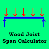 Wood Joist Span Calculator