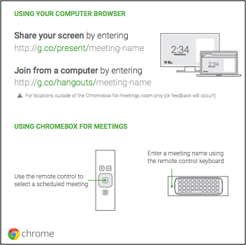Sample deployment assets - Chrome devices for meetings Help
