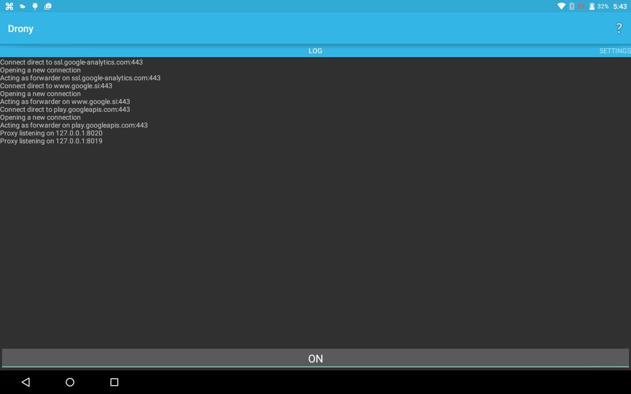 Drony - screenshot