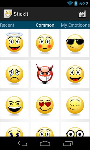 StickIt Emoticons