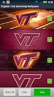 Screenshot of Virginia Tech Revolving WP