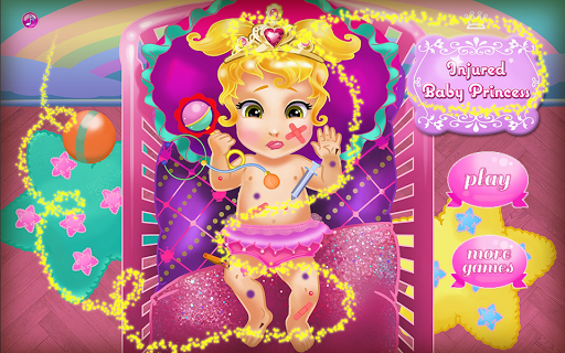 Injured Princess - Baby Games