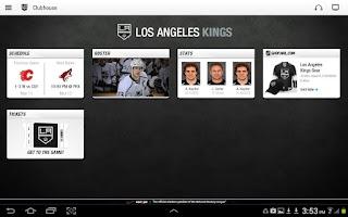 Screenshot of NHL GameCenter