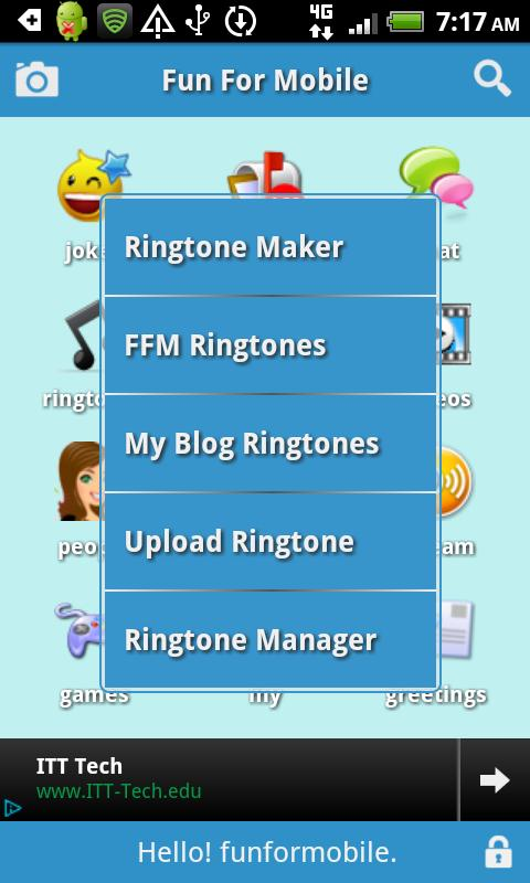 FunForMobile Ringtones & Chat- screenshot