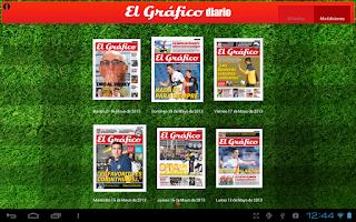 Screenshot of El Grafico Diario