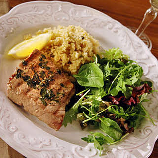 Greek Tuna Steaks.