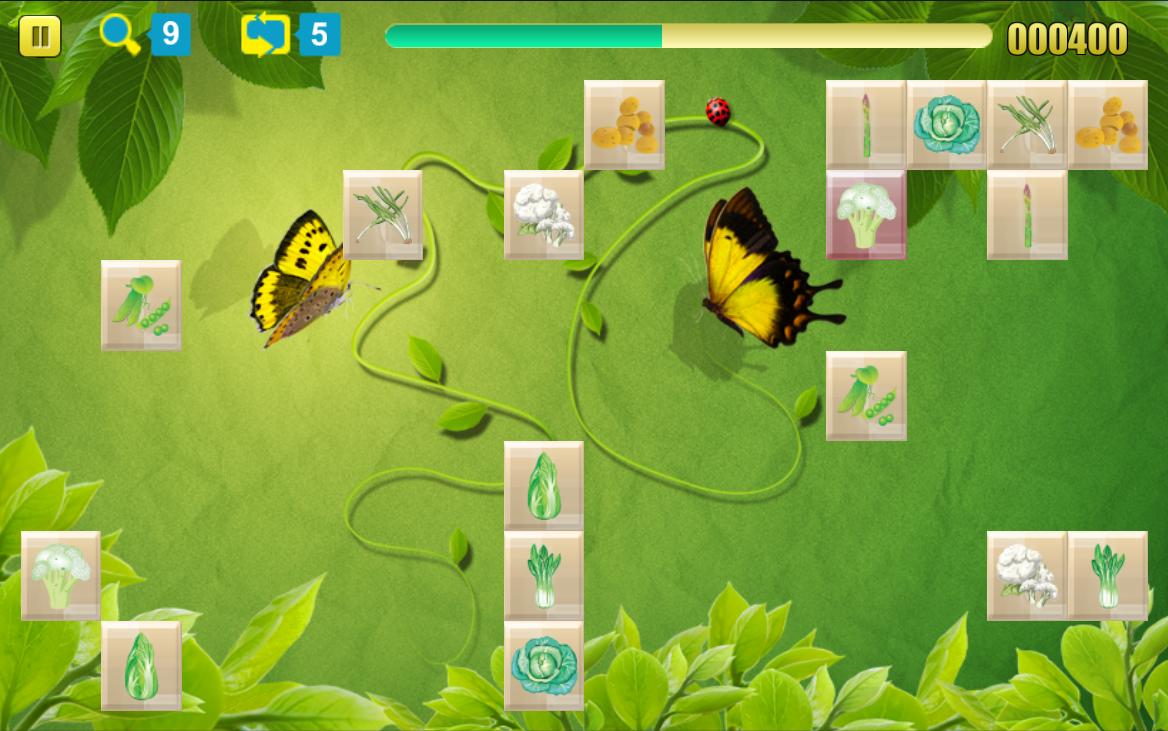 Game onet fruit - Onet Vegetable Garden Gratis Screenshot