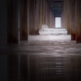 La Jolla 3 by Lisa Ehrlich - Buildings & Architecture Bridges & Suspended Structures (  )