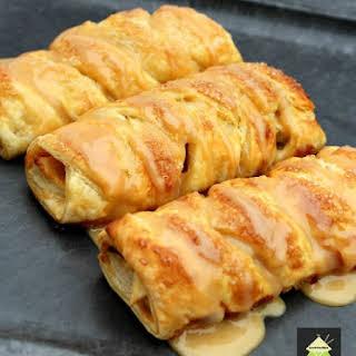 Mini Caramel Apple Pastries.