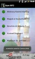 Screenshot of Azan MP3