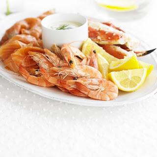 Simple Seafood Platter.