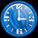 Nice Blue Clock Widget logo