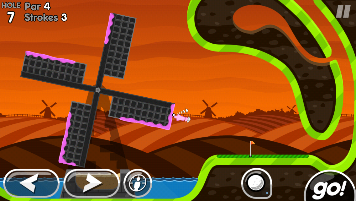 Super Stickman Golf 2 screenshot #2