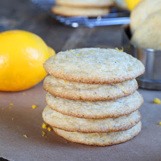 Gluten Free Lemon Poppyseed Cookies