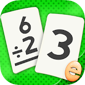 Division Flashcard Match Games for Kids Math Free