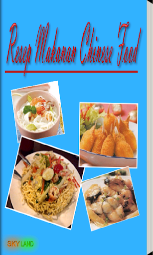Chinese Food Resep