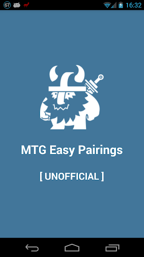 MTG Easy Pairings [UNOFFICIAL]