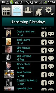 Birthday Calendar by Davia - screenshot thumbnail