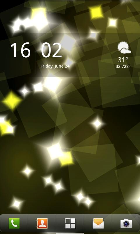 Luma Lite Live Wallpaper - screenshot