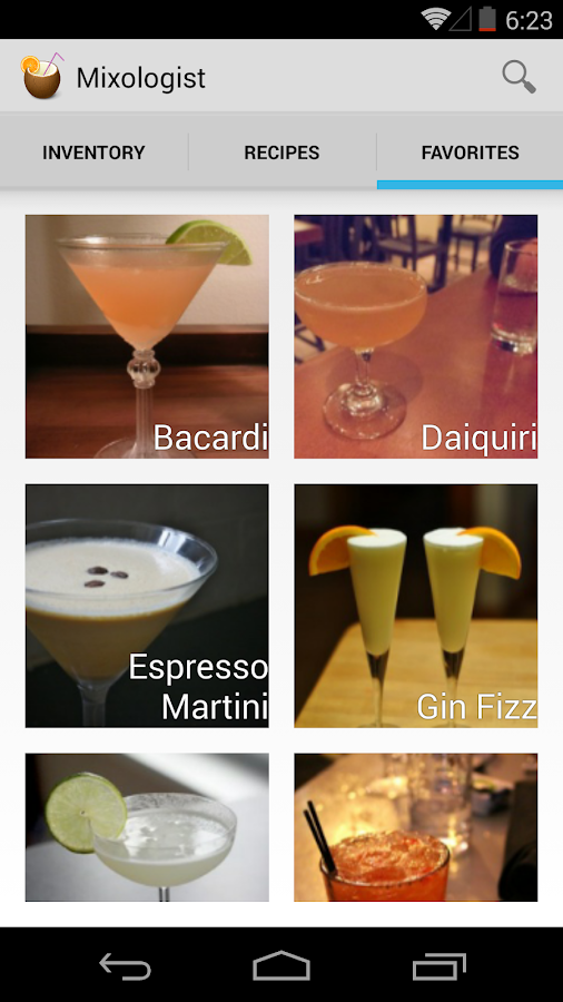 Mixologist - Cocktail Recipes- screenshot