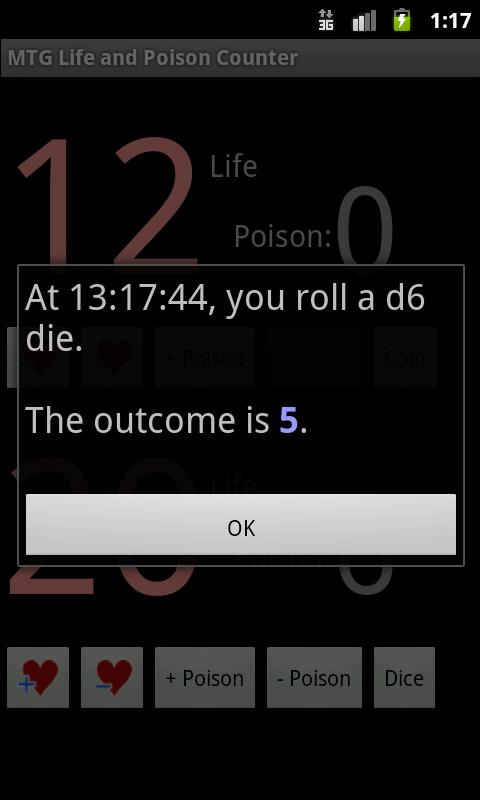 MTG Life and Poison Counter- screenshot