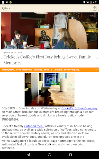 GeneseeSun.com- screenshot thumbnail