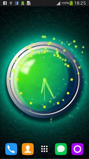 绿色的时钟