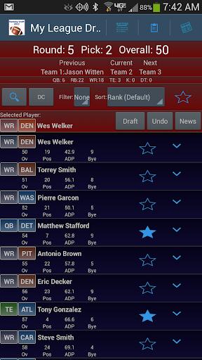 Fantasy Football Draft Magnate