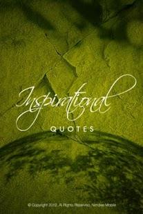 Inspiring Quotes screenshot