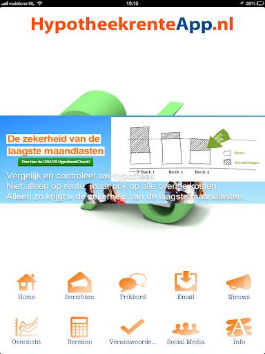 Hypotheekrente App