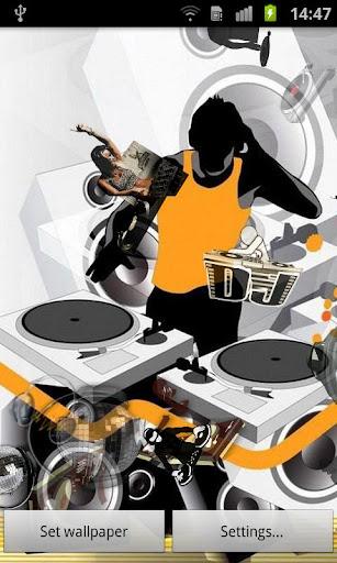 音樂 DJ 動態桌布