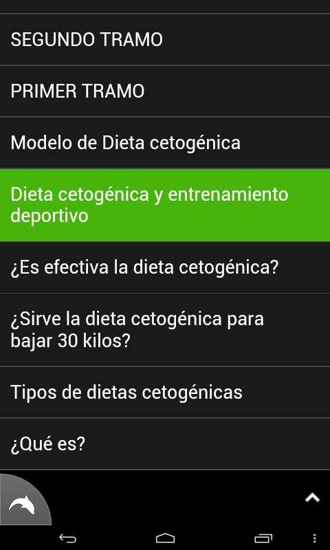 Dieta Cetogenica - screenshot