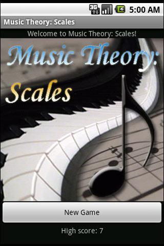 Music Theory: Scales- screenshot