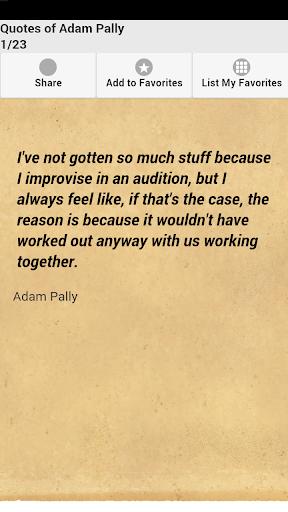 Quotes of Adam Pally