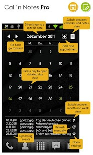 Calendar Widget+Status FREE- screenshot thumbnail