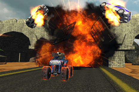Crazy Monster Truck Fighter 3D- screenshot thumbnail