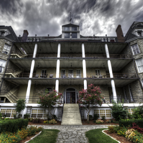 HDR, very little post-processing! by Cody Miller - Buildings & Architecture Office Buildings & Hotels ( crescent hotel, hdr, 1886, hotel, haunted, cody j miller, eureka springs, divinofoto, decay, arkansas,  )