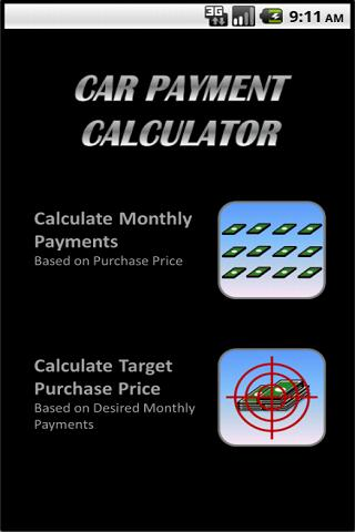 Car Payment Calculator - Android Apps On Google Play