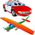 Kids memory game: Cars&Planes icon