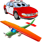 Kids game: memory Cars&Planes