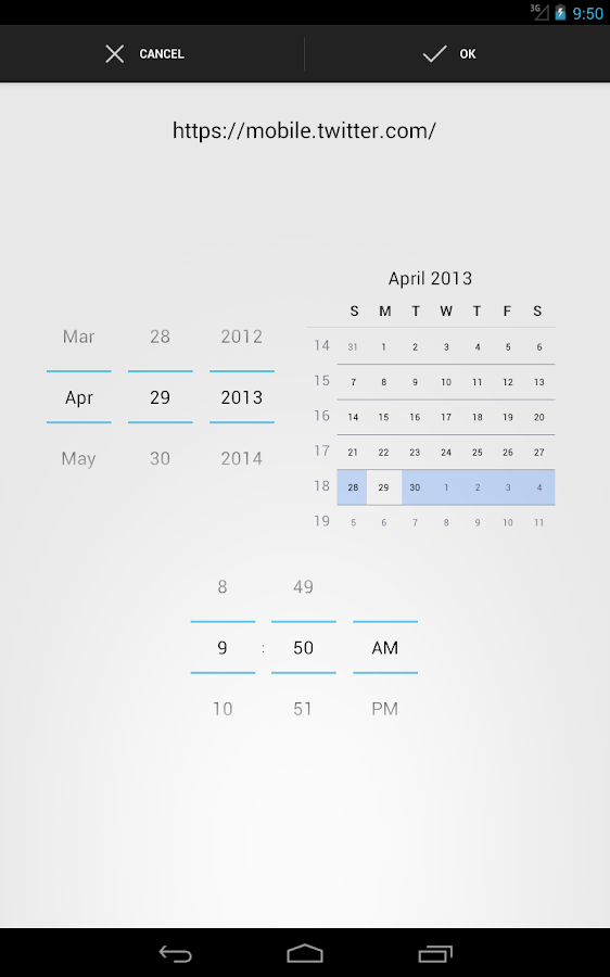 Share To Calendar - screenshot